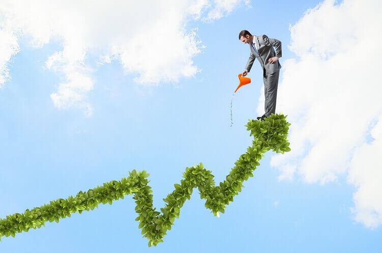 המחשה לשיפור תוצאות בעסק בעזרת יועץ עסקי